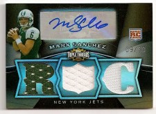 Mark Sanchez 2009 Topps Triple Threads RC