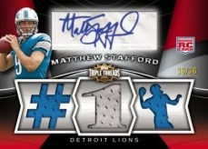 Matthew Stafford 2009 Topps Triple Threads RC