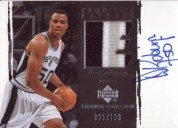 2003/04 Exquisite David Robinson Patch Auto /100