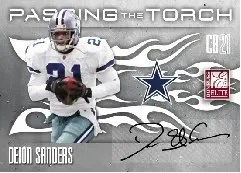 2010 Donruss Elite Passing The Torch Deion Sanders