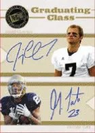 Jimmy Clausen Golden Tate Dual Press Pass Portrait Auto