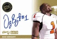 2010 Press Pass Portraits Dez Bryant Autograph