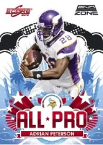 2010 Score Adrian Peterson All Pro Insert