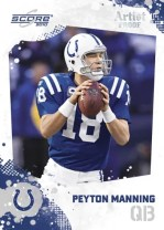 2010 Score Peyton Manning Base Card