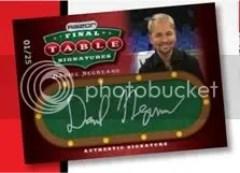 2010 Razor Poker Daniel Negreanu Auto