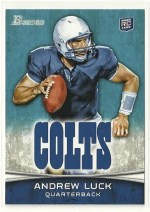 2012 Bowman Andrew Luck Sp Variation RC Rookie