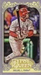 2012 Topps Gypsy Queen Jimmy Rollins Mini Sp