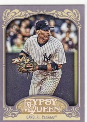 2012 Topps Gypsy Queen Robinson Cano Sp Variation