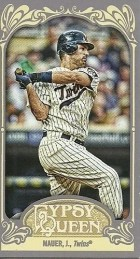 2012 Topps Gypsy Queen Joe Mauer Mini