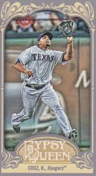 2012 Topps Gypsy Queen Nelson Cruz Mini Base Card