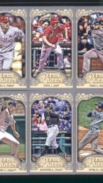 2012 Topps Gypsy Queen Andrew McCutchen Mini