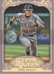 2012 Topps Gypsy Queen Ichiro Base Card