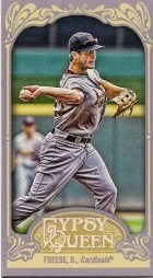 2012 Topps Gypsy Queen David Freese Mini Sp