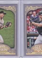 2012 Topps Gypsy Queen Mike Stanton Base