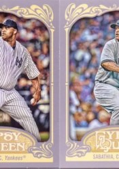 2012 Topps Gypsy Queen CC Sabathia Base Card