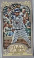 2012 Topps Gypsy Queen Starlin Castro Mini