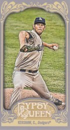 2012 Topps Gypsy Queen Clayton Kershaw Mini Sp