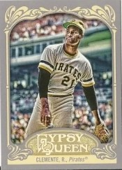 2012 Topps Gypsy Queen Roberto Clemente Base
