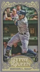 2012 Topps Gypsy Queen Curtis Granderson Base Mini