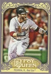 2012 Topps Gypsy Queen Dustin Pedroia Base Card