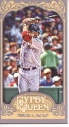 2012 Topps Gypsy Queen Kevin Youkilis Mini Sp