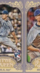 2012 Topps Gypsy Queen Matt Moore Mini