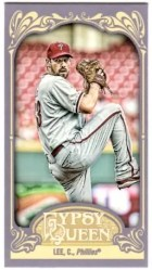 2012 Topps Gypsy Queen Cliff Lee MIni
