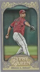 2012 Topps Gypsy Queen Gio Gonzalez Mini