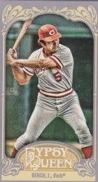 2012 Toppsy Gypsy Queen Johnny Bench Mini Variation
