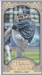 2012 Topps Gypsy Queen James Shields Mini