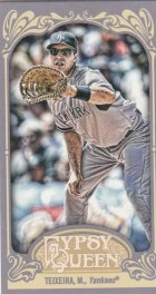2012 Topps Gypsy Queen Mark Teixeira Mini