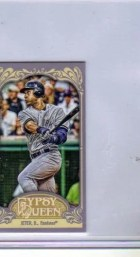 2012 Topps Gypsy Queen Derek Jeter Mini Sp