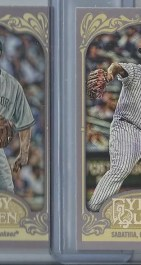 2012 Topps Gypsy Queen CC Sabathia Mini Sp