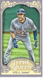 2012 Topps Gypsy Queen Derek Jeter Base Mini