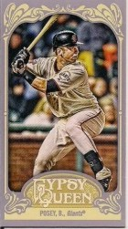 2012 Gypsy Queen Buster Posey Mini Sp