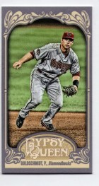 2012 Topps Gypsy Queen Paul Goldschmidt Mini