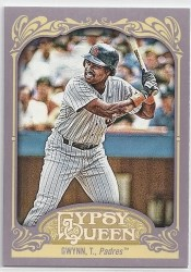 2012 Topps Gypsy Queen Tony Gywnn Sp Photo Variation