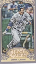 2012 Topps Gypsy Queen Alex Gordon Mini