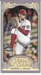 2012 Topps Gypsy Queen Stephen Strasburg Base Mini