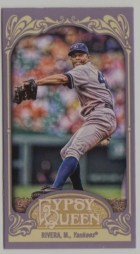2012 Topps Gypsy Queen Mariano Rivera Mini Card