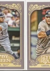 2012 Topps Gypsy Queen Miguel Cabrera Base Card