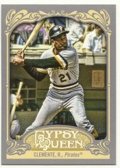 2012 Topps Gypsy Queen Roberto Clemente Sp Photo Variation