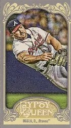 2012 Gypsy Queen Dan Uggla Mini