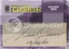 Jesse Owens Famous Fabrics Cut Auto