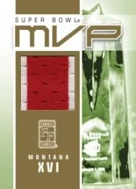 Famous Fabrics Super Bowl MVP Joe Montana
