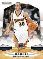 2009/10 Panini Platinum Stephen Curry RC Rookie Card