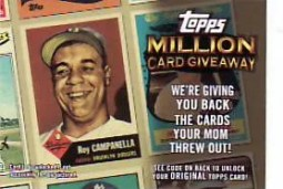 2010 Topps Series 2 Million Card Giveaway