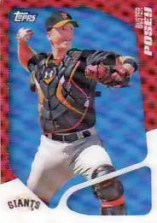 2020 Topps Buster Posey 3D Card
