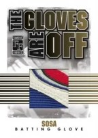Famous Fabrics Gloves Are Off Sosa Patch