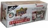 2008 Upper Deck First Edition MLB Baseball Factory Set(506 Cards)